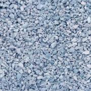 Мраморный щебень серо-голубой